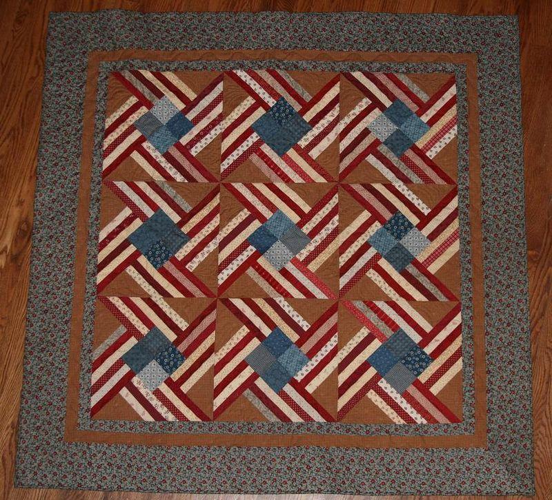 Patriotic pinwheel quilt 001rs